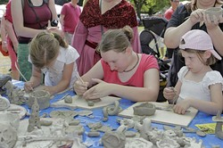 Keramikdesign/ Töpfern mit Kindern