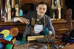 Lederhandschuhmacher