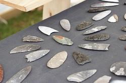 prähistorische Steinverarbeitung