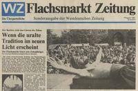 Flachsmarktzeitung 1984